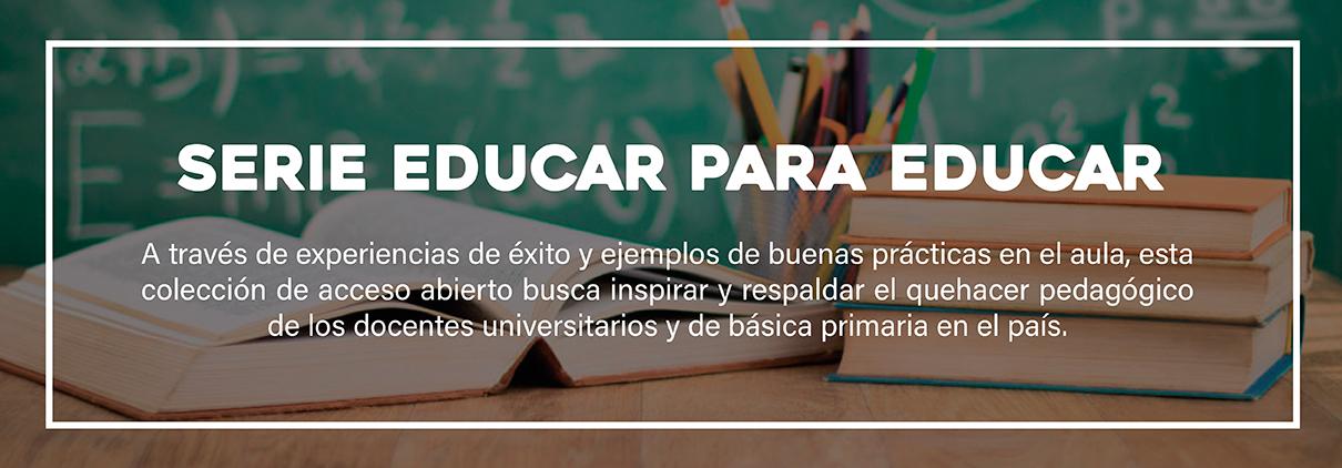 Banner Colección Educar para educar