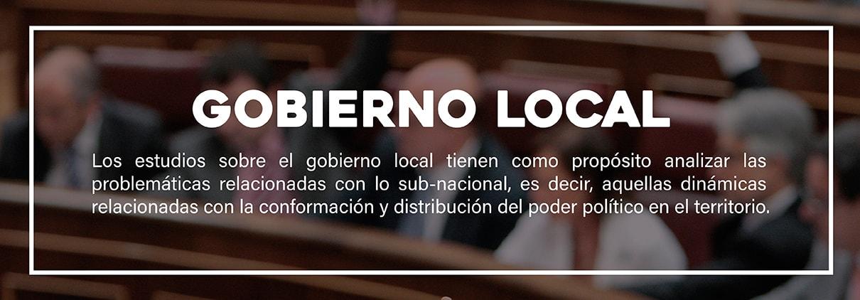 Banner Colección Gobierno local